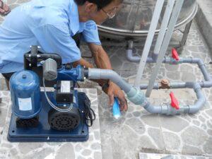 Dịch vụ & lắp đặt máy bơm nước tại Hà Nội